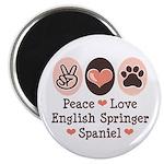 Peace Love Springer Spaniel Magnet