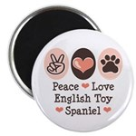 Peace Love Toy Spaniel 2.25
