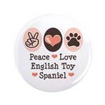 Peace Love Toy Spaniel 3.5