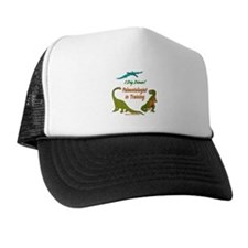 Train Paleontologist Trucker Hat