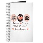 Peace Love Flatcoat Journal