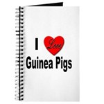I Love Guinea Pigs Journal