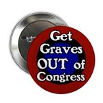 Sam Graves Out of Congress Button