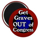 Get Graves Out of Congress Magnet