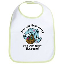 Eggcited 1st Easter Bib