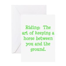 Horse Quotes Greeting Card