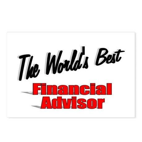"""The World's Best Financial Advisor"" Postcards (Pa"