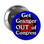 Get Out Kay Granger Campaign Button