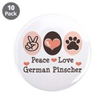 Peace Love German Pinscher 3.5