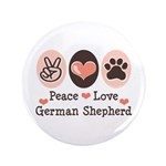 Peace Love German Shepherd 3.5