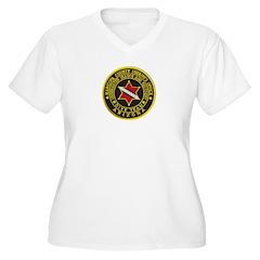 Phoenix Divers Women's Plus Size V-Neck T-Shirt