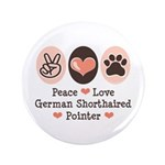 Peace Love G Shorthaired Pointer 3.5