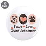 Peace Love Giant Schnauzer 3.5