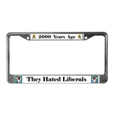 2000 Years #4 License Plate Frame