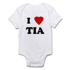 I Love TIA Infant Bodysuit