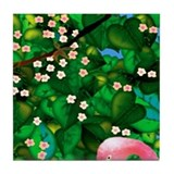 Flamingo Tropical Paradise ceramic tile mural #2