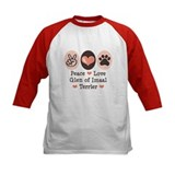 Peace Love Imaal Terrier Tee
