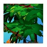 Flamingo Tropical Paradise ceramic tile mural #4
