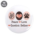 Peace Love Gordon Setter 3.5