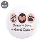 Peace Love Great Dane 3.5
