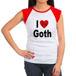 I Love Goth Women's Cap Sleeve T-Shirt