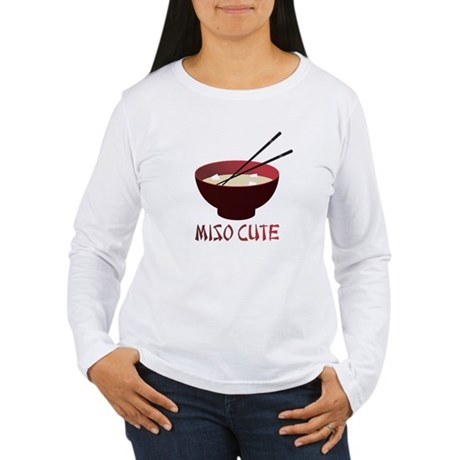 Miso Cute Women's Long Sleeve T-Shirt