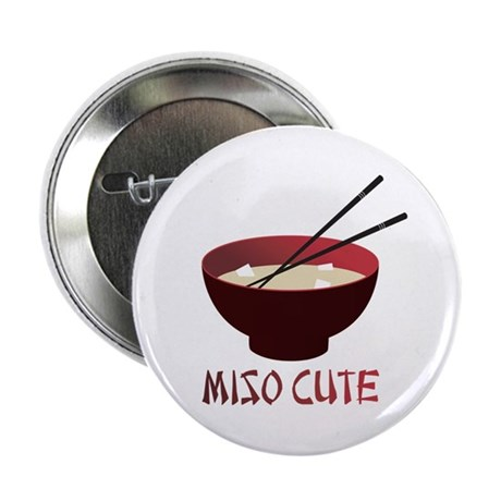 "Miso Cute 2.25"" Button (100 pack)"