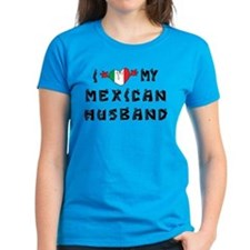 I Love My Mexican Husband Tee