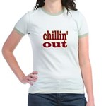 """CHILLIN' OUT Jr. Ringer T-Shirt"