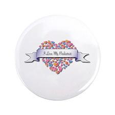 "Love My Podiatrist 3.5"" Button (100 pack)"