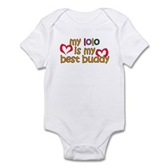 Lolo is My Best Buddy Infant Bodysuit