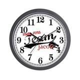 Team Jacob Wall Clock