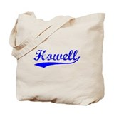 Vintage Howell (Blue) Tote Bag