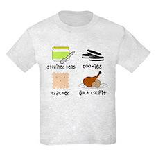 Snacks for Smart Babies Kids Light T-Shirt