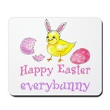 Happy Easter Everybunny Mousepad
