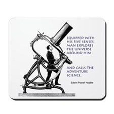 Hubble Quote Mousepad