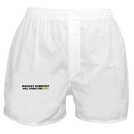 Rocket Scientist Boxer Shorts