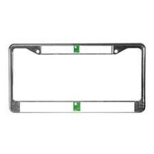 Peacescape License Plate Frame