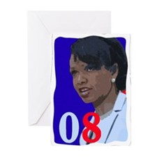 Unique Condoleezza rice Greeting Cards (Pk of 10)