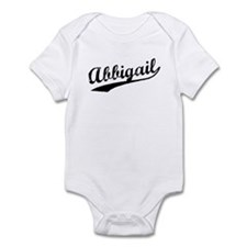 Vintage Abbigail (Black) Infant Bodysuit