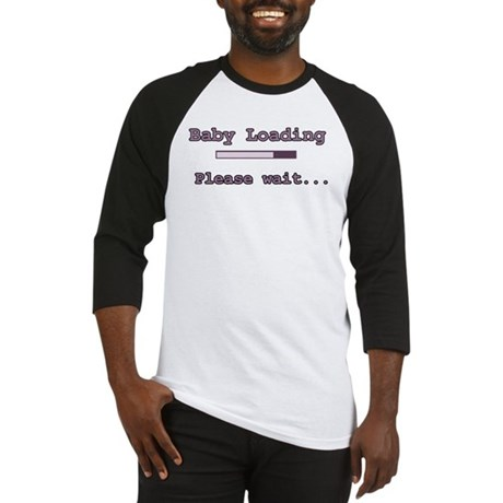 Purple Baby Loading Baseball Jersey