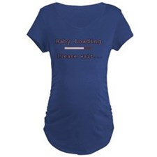 Purple Baby Loading T-Shirt