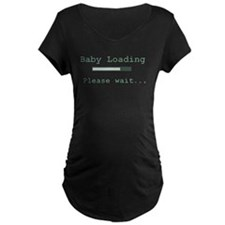 Green Baby Loading T-Shirt
