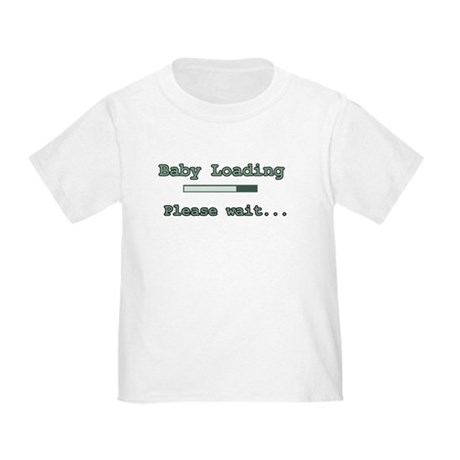 Green Baby Loading Toddler T-Shirt