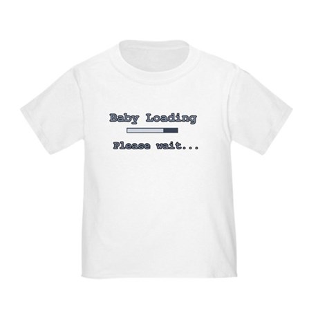 Blue Baby Loading Toddler T-Shirt