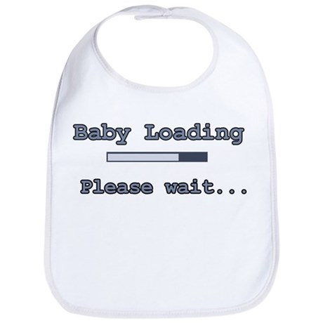 Blue Baby Loading Bib