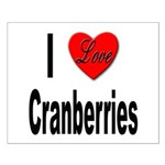 I Love Cranberries Small Poster