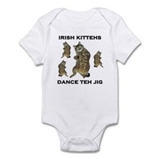 Irish Kitteh Infant Bodysuit