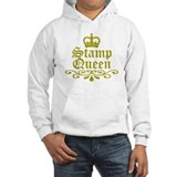 Gold Stamp Queen Hoodie Sweatshirt