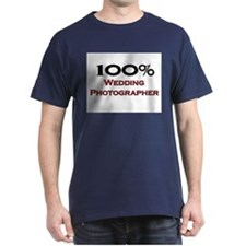 100 Percent Wedding Photographer T-Shirt